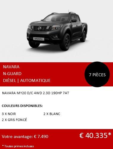 NAVARA NGUARD 7STUKS NEW 122020 FR