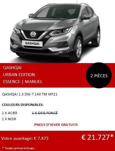 QASHQAI URBAN EDITION 012021 FR