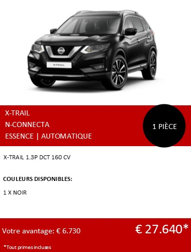 XTRAIL N-CONNECTA FR 122020
