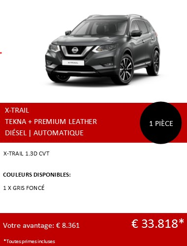 XTRAIL TEKNA PREM LEATHER 122020 FR