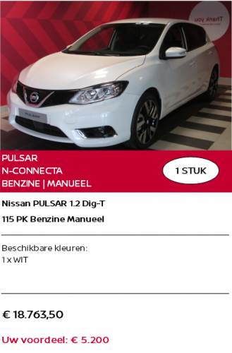 PULSAR N-CONNECTA NL