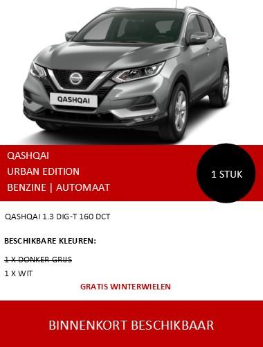 QASHQAI URBAN EDITION AUTOMAAT 122020 NL