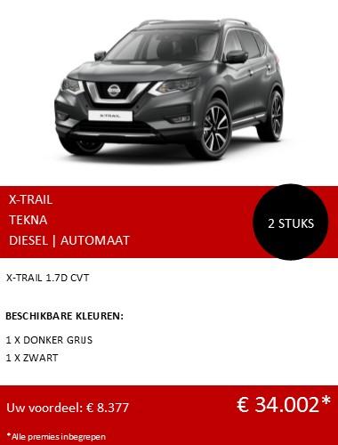 XTRAIL TEKNA DIESEL AUTOMAAT 122020 NL